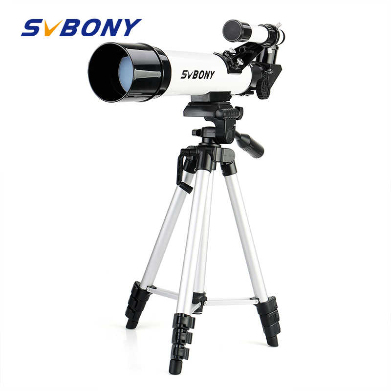 SvBony عالية الجودة 60420 الانكسار 60 مللي متر الاطفال تلسكوب فلكي لديها زاوية واسعة قوية التكبير تلسكوب مع ترايبود