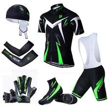 X נמר גדול רכיבה על אופניים סט MTB אופני בגדי מירוץ אופניים בגדים אחיד קיץ רכיבה על אופניים ג רזי סטים מהיר יבש אופניים ערכות