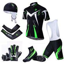X kaplan büyük bisiklet seti MTB bisiklet giyim yarış bisiklet giysileri üniforma yaz bisiklet Jersey setleri çabuk kuru bisiklet kitleri