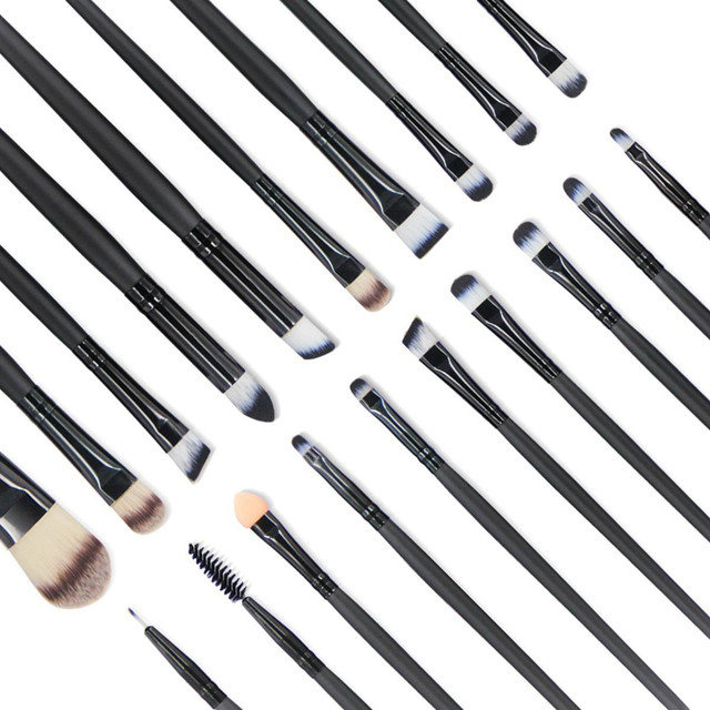 Hot Makeup Brushes Set 20/18/15/2Pcs Eye Shadow Foundation Powder Eyeliner Eyelash Lip Make Up Brush Cosmetic Beauty Tool Kit 2
