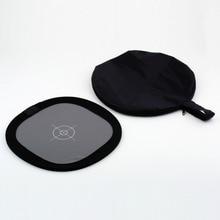 1Pcs 12 Balance Folding Grey Card Double Face Camera reflector 18% Gray White Wholesale