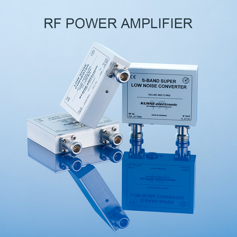 200 MHZ-50 GHZ RF Power Amplifier Applications video transmission MMDS systems image