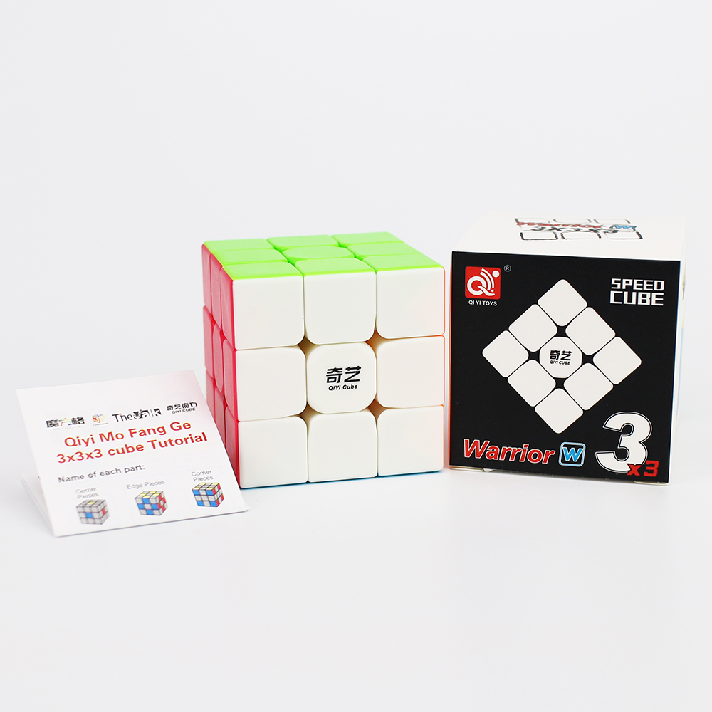 Newest QiYi Warrior W 3x3x3 Profissional Magic Cube Competition Speed Puzzle Cubes Toys For Children Kids Cubo Magico Qi103