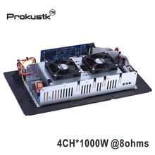 4 kanal 1000W @ 8ohm subwoofer Verstärker modul platte DSP Klasse D amp modul angetrieben subwoofer Prokustk AM3004