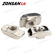 ZONSANTA T слот гайка M3 M4 M5 M6 M8 T гайка молоток раздвижная головка 3D принтер запчасти крепеж разъем 2020 3030 4040 алюминиевый профиль