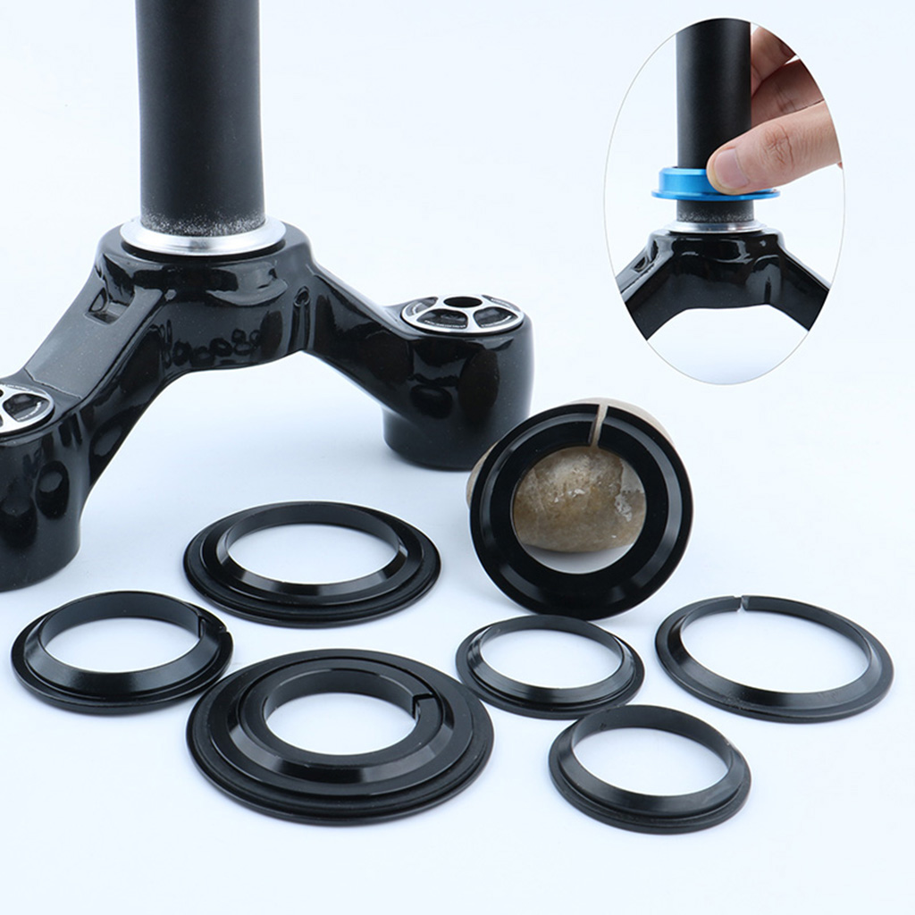 MTB Mountain Bike Fork Headset Base Compression Ring Conversion Adapter Bottom Spacer Bicycle Parts Accessories