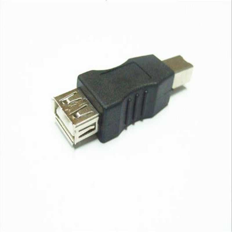 50PCS USB2 0 conversion head Printer USB A female to print port B is common in digital products and computer peripherals in Computer Cables Connectors from Computer Office