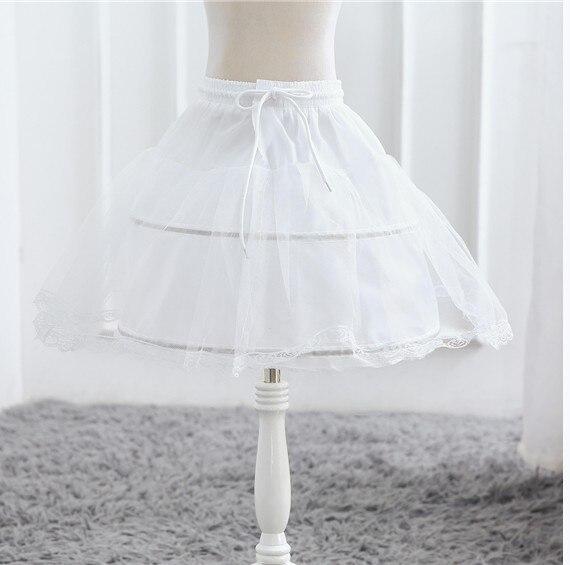 Платье для девочек; элегантное Новогоднее детское праздничное платье принцессы; свадебное платье; Детские платья для девочек; платье для дня рождения; Vestido; одежда - Цвет: Petticoat