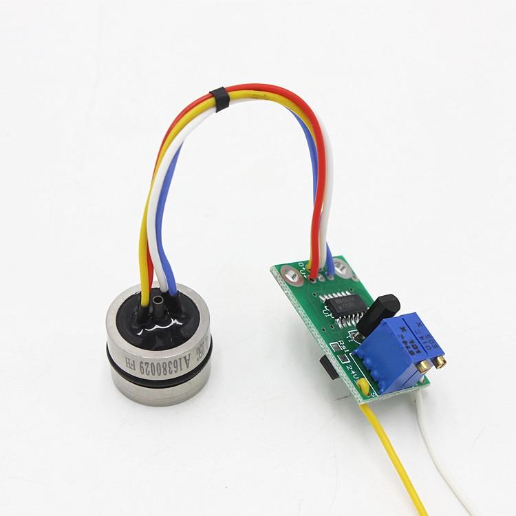 Pressure Sensor Diffusion Silicon Core With Circuit 4-20ma Signal Pressure Transmitter Accessories 24VDC Power Supply