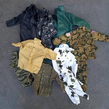 1/6 Scale Soldier Camo Desert Uniforms accessories Set for US Germany WWII Military  12'' The Ultimate Soldier figure the tin soldier