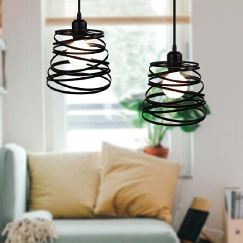 Купить современный подвесной светильник в стиле индастриал винтажная