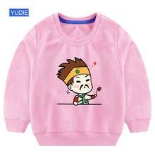 Толстовки с капюшоном для девочек детская рубашка хлопковые