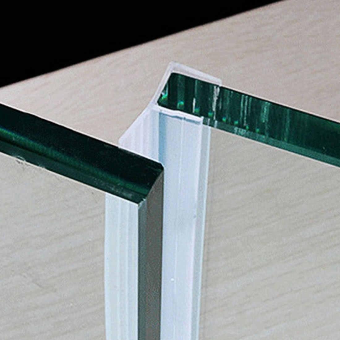 1M 6-12mm F U w kształcie litery H szklane drzwi uszczelki z gumy silikonowej drzwi prysznicowe szklane okno uszczelnienie taśma uszczelniająca okna drzwi