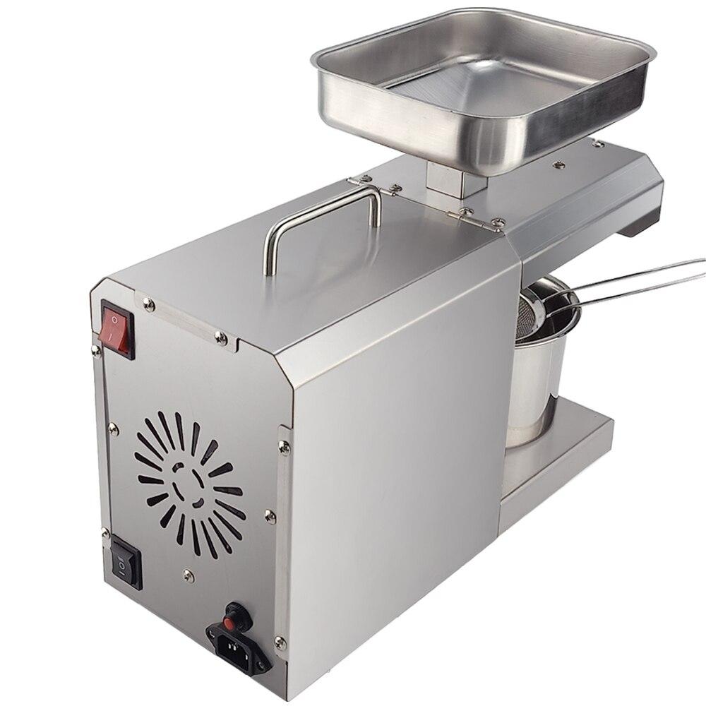 700W Commercial ménage presse à huile Machine automatique presseur d'huile expulseur noix graines noix de coco huile extracteur contrôle de la température - 4