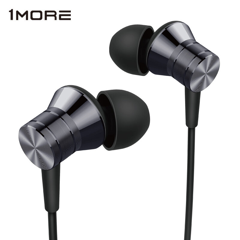 1MORE E1009 Piston Metal Stereo Earphone In Ear Wired Headset Ear buds with 3 5mm In Balanced Immersive Bass Earphones
