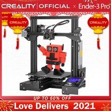 CREALITY impresora 3D Ender 3 Pro, placa de construcción magnética, KIT de impresión de fallo de energía Mean Well, fuente de alimentación