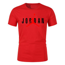 2021 Jodan Men's Casual Short High Quality Summer Men's And Women's Fashion O-Neck T-Shirt Casual Breathable XXS-6XL