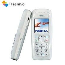 Nokia 3100 remodelado-original desbloqueado 3100 gsm barra 850 mah suporte russo & árabe keybaord barato e antigo telefone frete grátis