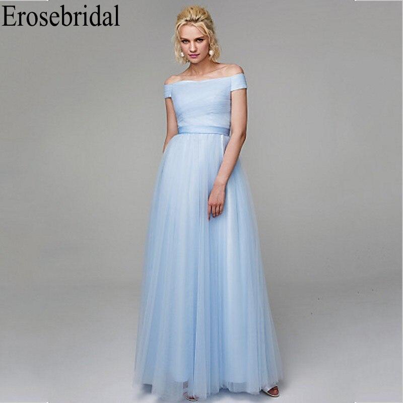 Robe de soirée bleu erosefairy pour femmes conception de corsage plissé avec dos à lacets longues robes formelles robes de soirée fête