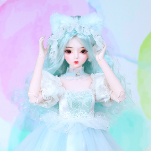 Image 4 - DBS 1/3 bjd 62cm body articulado vestido y zapatos para muñeca tocado Hada de los sueños SD