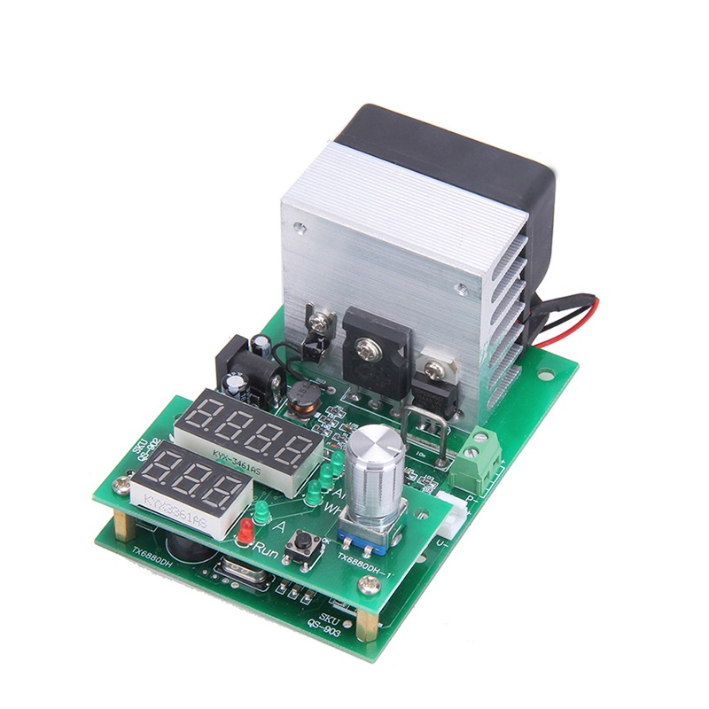 Multi-function 60W Constant Current Electronic Load Aging Module 9.99A 30V Power Battery Capacity Tester