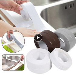 1 рулон уплотнительной ленты Mildewproof ленты ПВХ материал кухня ванная комната стены водонепроницаемый Плесень Доказательство Клей трещина ре...