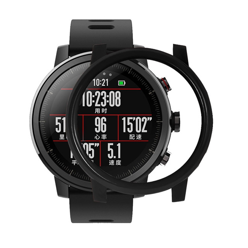 Smart Watch Case For Huami Amazfit Stratos 2 2S Anti-fall Protect Shell For Huami AMAZFIT Stratos 2S Watch Accessories PC Case