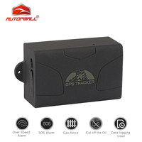 Auto GPS Tracker Vehicle Tracker Car GPS GSM Locator Real time Tracking SOS Alarm TK104 GPS104 6000mAh Battery Powerful Magnet