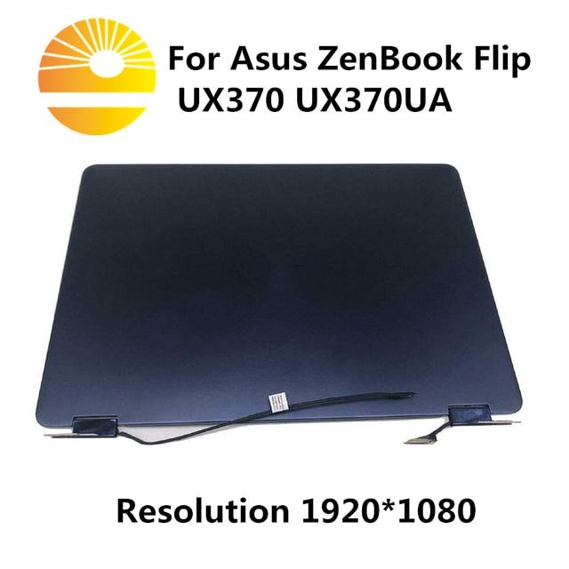 """13.3 """"מגע LCD תצוגה עבור ASUS ZenBook Flip S UX370UA UX370U UX370UAF UX370UAR עליון LCD החלפת מסך"""