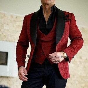Новый Жених, Мужская шаль, черный нагрудный смокинг для жениха, мужские костюмы на одной пуговице, для свадьбы/выпускного/ужина, лучший мужс...