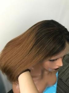 Image 4 - 13x6 תחרה מול שיער טבעי פאות ברזילאי גוף גל פאה עם פוני 360 תחרה פרונטאלית פאה מראש קטף עם תינוק שיער CARA רמי