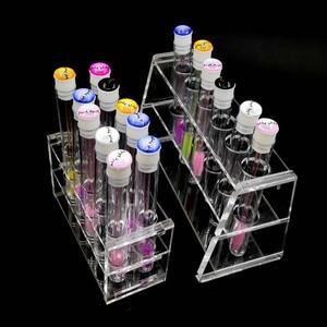 Image 2 - ריס הארכת ריסים שמפו ניקוי מברשת צבעוני איפור מברשות עץ מברשת ניקוי מברשת ריסים בודדים כלים