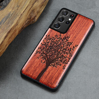 Boogic-funda de madera para Samsung Galaxy S21 Ultra, funda de madera Original S21 S21 +, funda de teléfono para Samsung S21 Ultra