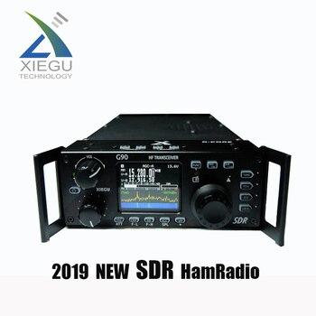 Xiegu G90 QRP nowe amatorskie radio krótkofalowe HF (0.5-30 MHz) SDR Transceiver 20w SSB/CW/AM z wbudowaną antena samochodowa tuner