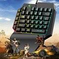 PUBG PC Gamer выделенная клавиатура с 39 клавишами  эргономичная игровая клавиатура с одной рукой  Механическая игровая клавиатура