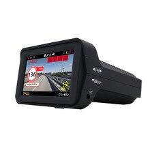 Автомобильный видеорегистратор Комбо-устройство 3 в 1: Видеорегистратор радар-детектор и GPS-информатор Запись HD 1080P Обнов