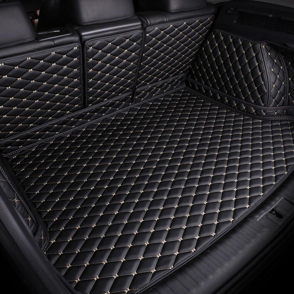 Custom Fit Car Trunk Mats For Citroen C4 Air Cross Picasso C2 C4L C-elysee DS5 LS DS6 6D Car Styling Carpet Floor Liner