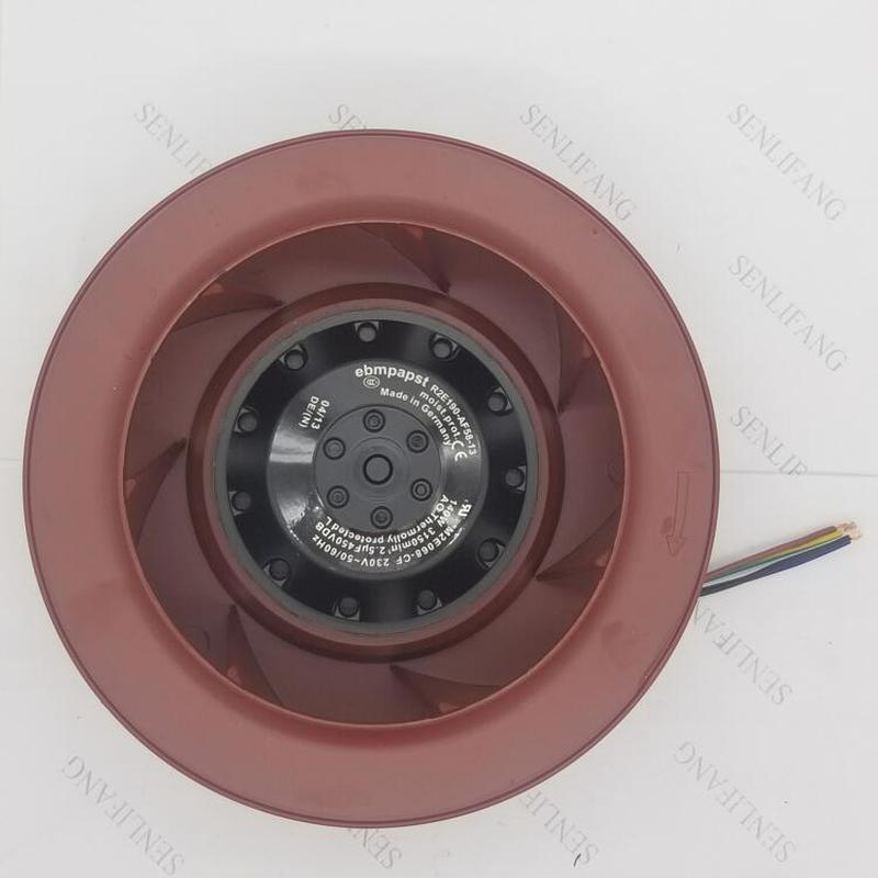 Free Shipping For Ebmpapst R2E190-AF58-13 M2E068-CF AC230V 140W Centrifugal Fan With Capacitor