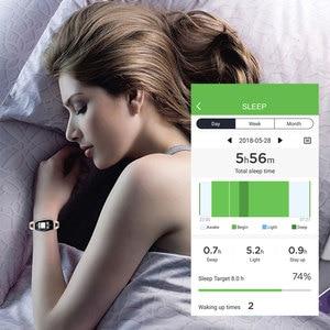 Image 5 - H8 feminino relógio inteligente moda monitor de freqüência cardíaca pressão arterial banda inteligente ip67 à prova dip67 água fitness atividade rastreador senhora pulseira