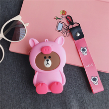 Fashion Cute Mini Portable Zipper Earphone Headphone Box Bag SD Card Small Jewelry Carrying Pouch Storage
