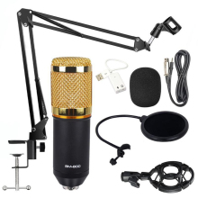 promotion original new isk bm 800 professional recording microphone condenser mic for studio and broadcasting without carry case Microphone bm 800 Studio Microphone Professional microfone bm800 Condenser Sound Recording Microphone For computer