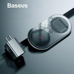 Baseus 20W Schnelle Qi Drahtlose Ladegerät für iPhone 11 Pro Max XR Xs AirPods Dual 10W Schnelle Lade für Samsung S10 S9 Huawei P30 Pro