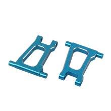 цена на RC Aluminum Rear Upper Suspension Arms Set for Tamiya TT01 TT01E TT01D Upgrade Parts