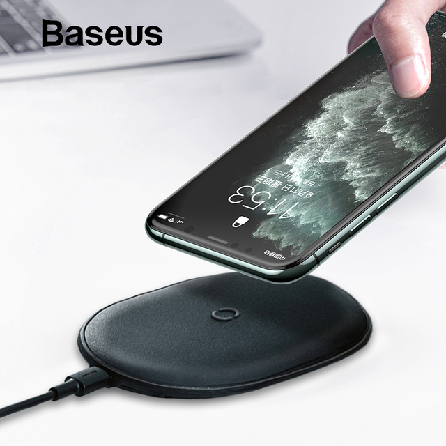 Baseus 15W Qi Wireless Charger for iPhone 11 Pro X XS MAX XR 8 Plus Fast Charging for Airpods Pro Samsung S9 S10 Huawei P30 Pro