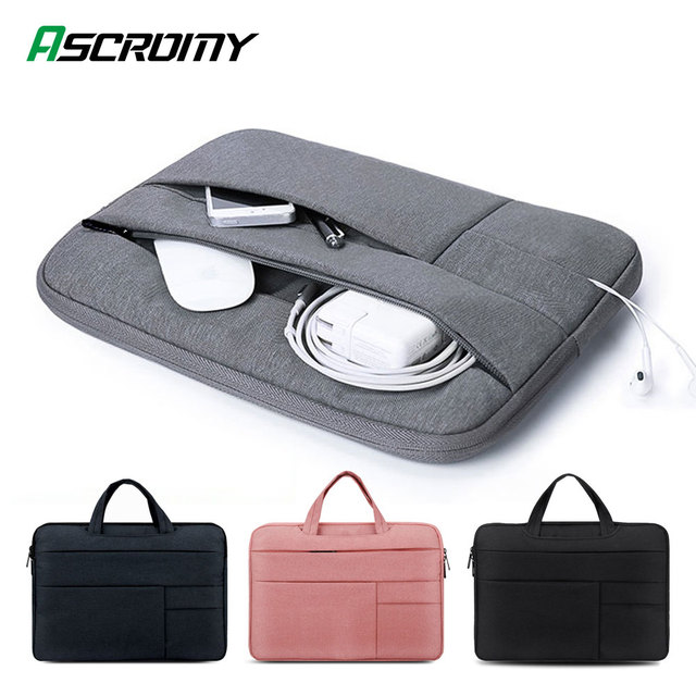 Laptop Bag Case For MacBook Air Pro Mac Book 13.3 13 15 15.4 15.6 16 inch Huawei Matebook D 14 Computer Sleeve Cover Accessories