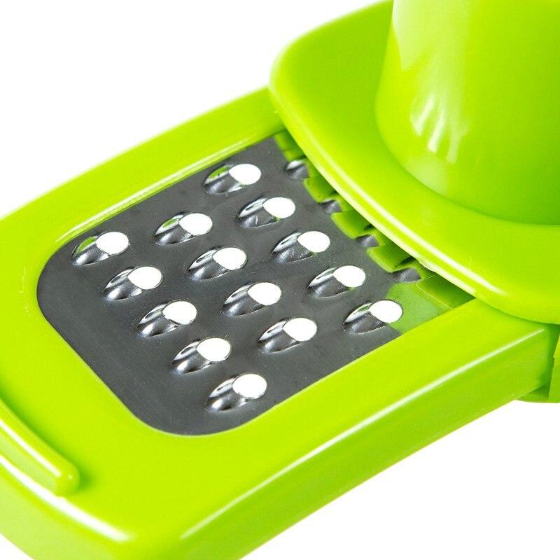TY Кухня инструменты бытовой измельчитель чеснока отверстиями чеснодавка Творческий многофункциональная мельница для имбиря Maker чеснок Пресс