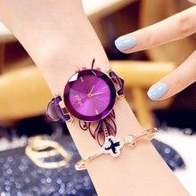 цена на Fashion 2019 Lvpai Women's Casual Quartz Leather Band Watch Analog Wrist Watch Valentine Gift Crystal Stainless Steel Dropship