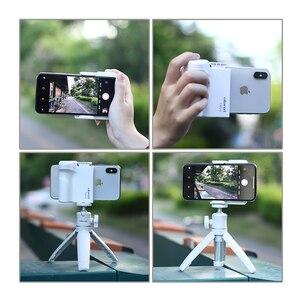 Image 5 - Smartphone Selfie Booster Griff Grip Bluetooth Foto Stabilisator Halter mit Auslöser 1/4 Schraube Telefon Stehen
