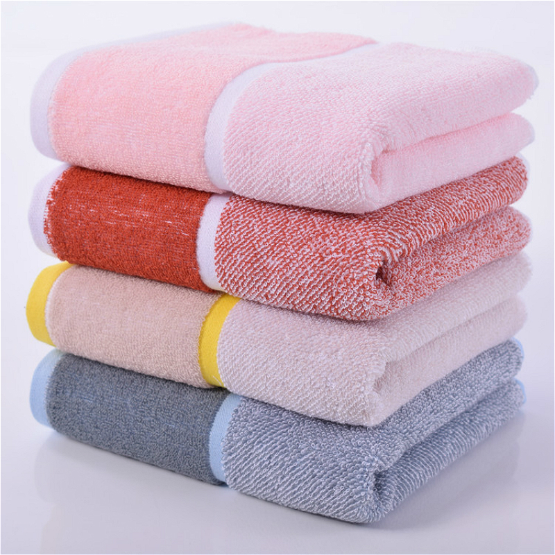 35x75cm Color Cotton Soft Men And Women Washcloth Student Dormitory Travel Camping Portable Towel Running Yoga Sweat Towel Gift in Face Towels from Home Garden