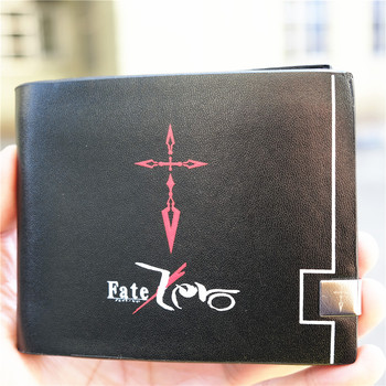 Fate Grand Order FGO Logo portfel ze skóry PU bi-fold etui na dowód osobisty torebka Fater zamówienie Grand Order tanie i dobre opinie SHORT Skóra syntetyczna moda Unisex Bez suwaka Kopertówki kreskówkowy nadruk